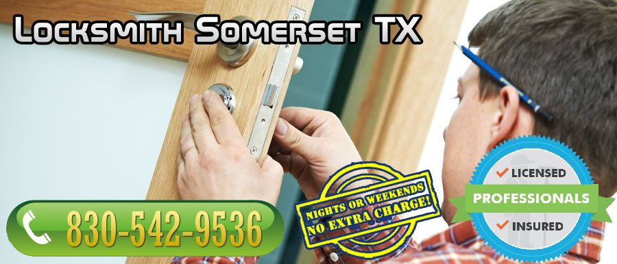 Locksmith Somerset TX banner