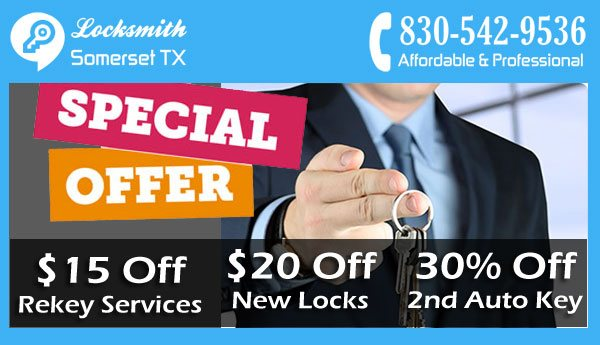 Locksmith Somerset TX Coupon